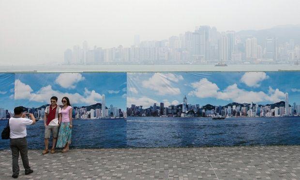 Air pollution in Hong Kong, China