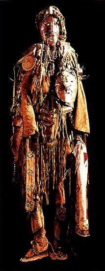 Siberian shaman's costume
