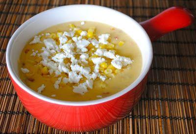 Невыразимая легкость кулинарного бытия...: Мексиканский суп из кукурузы со сладким перцем