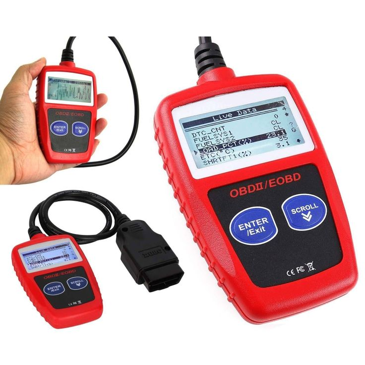 The Best Solution to Diagnose All 1996 and Newer OBD II Compliant Vehicles! The CAN OBD II/EOBD Code Reader provides DIYers easy and quick access to Diagnostic Trouble Codes and their definitions on all OBD II compliant vehicles sold worldwide since 1996. Though small in size, it is powerful enough to retrieve the same information as large expensive scanners.  Price $19.99