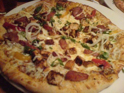 Cajun Pizza  Here is a restaurant copycat recipe for California Pizza Kitchen's Cajun pizza.