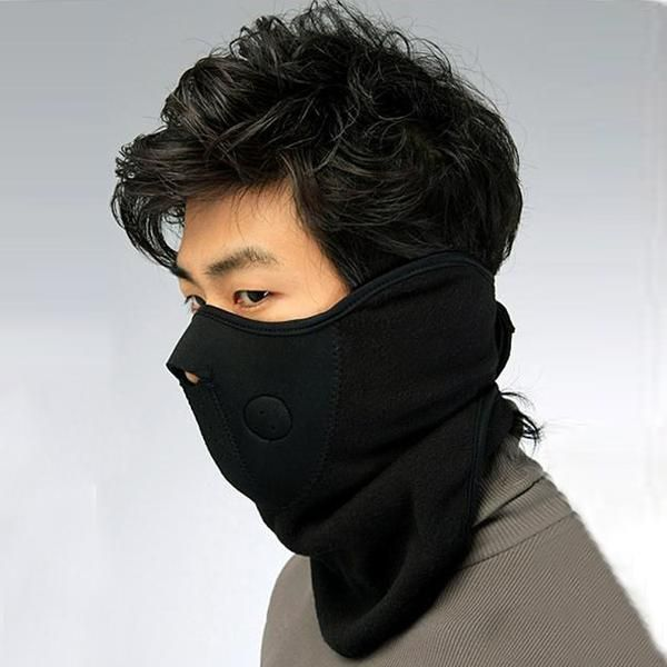 FuzWeb:Bicycle Motorcycle Face Mask Veil Winter Sports Snowboard Hood Wind Stopper Cap Headwear Thermal Masks