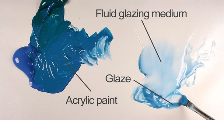 What Is Acrylic Paint Glaze