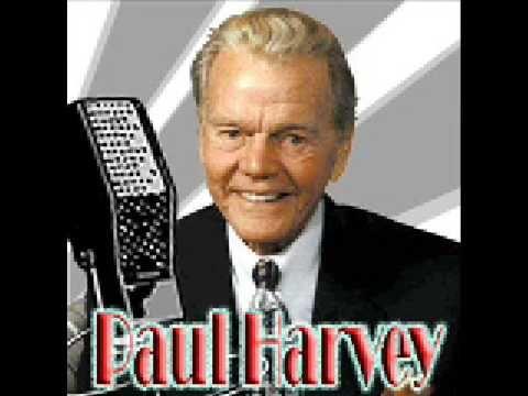 Paul Harvey's last Saturday newscast 02/07/09 Part 1