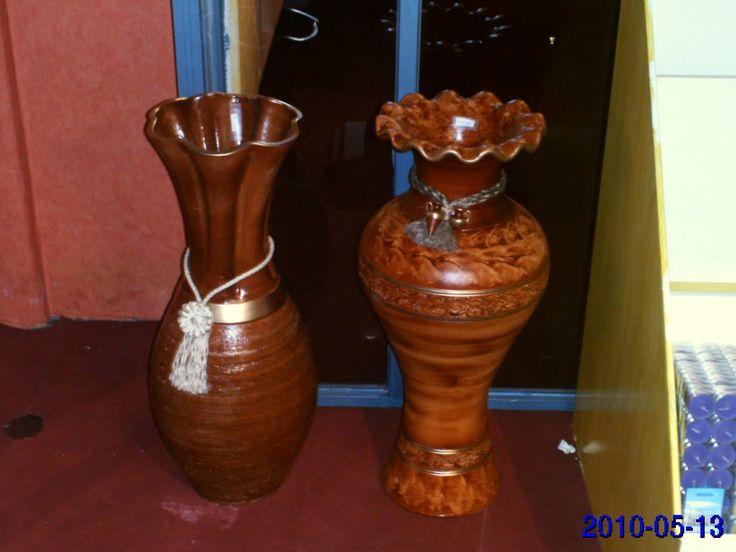 M s de 25 ideas incre bles sobre jarrones grandes que te for Jarrones decorativos para jardin