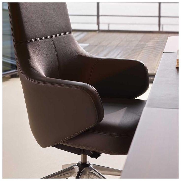 Grand Executive Lowback Bureaustoel - Vitra Stoel