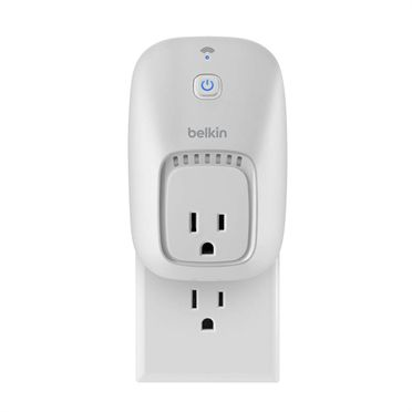 WeMo Switch - turn your appliances off and on from your smart phone.. Now this is genius!