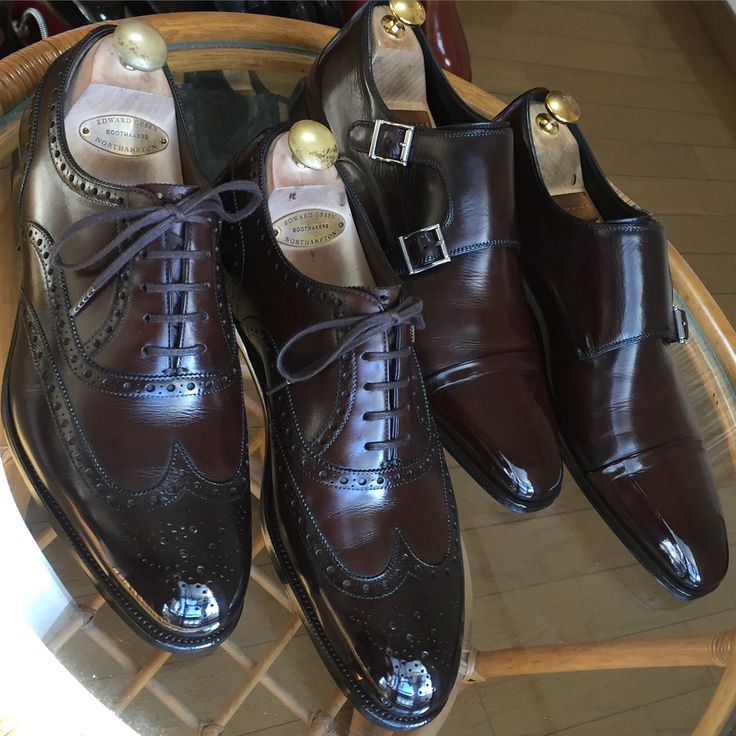 EDWARD GREEN  Magnanni   Shoeshine