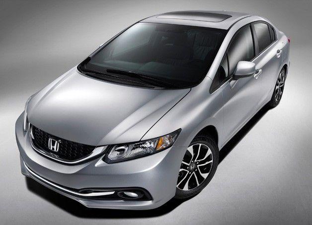 2013 Honda Civic - front three-quarter view