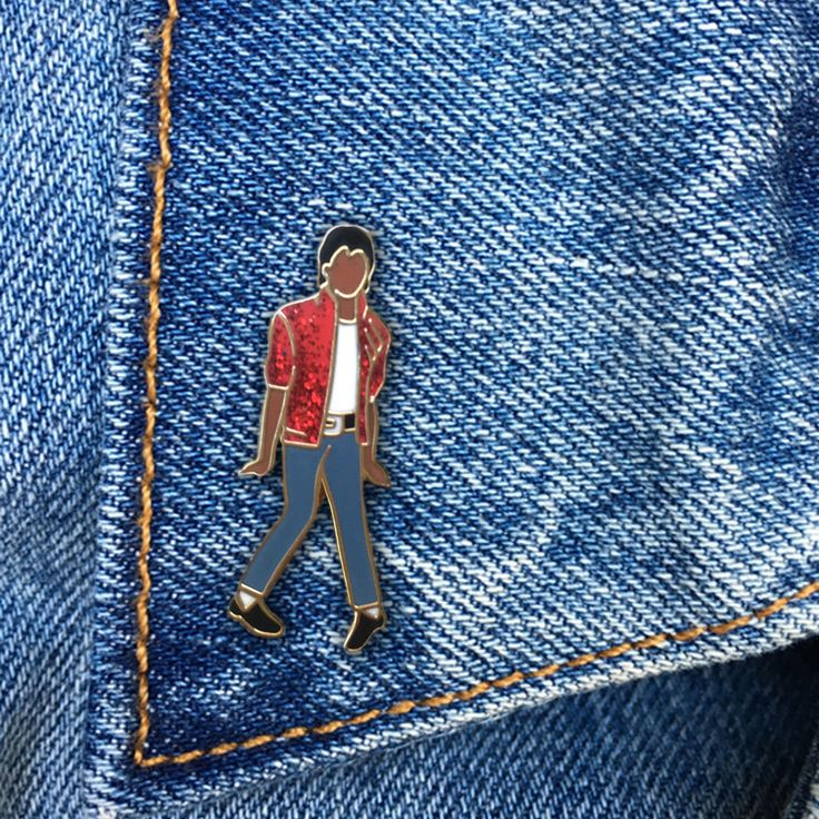 Michael Jackson Pin, Hard Enamel Pin, Thriller, Moonwalk, Jewelry, Art, Artist, Gift (PIN59) by thefoundretail on Etsy https://www.etsy.com/listing/469908493/michael-jackson-pin-hard-enamel-pin