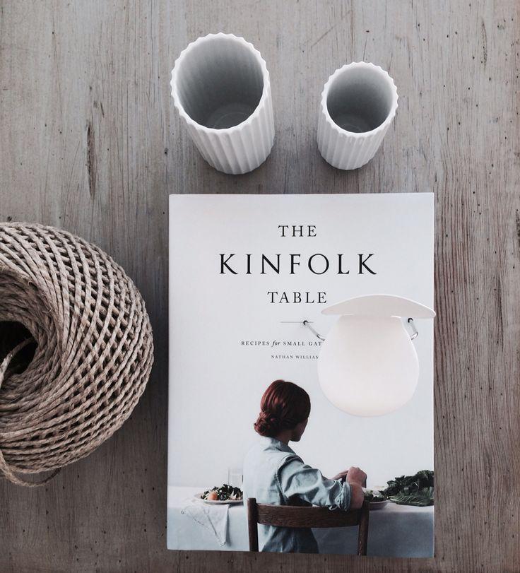 Kinfolk table, Lyngby vase