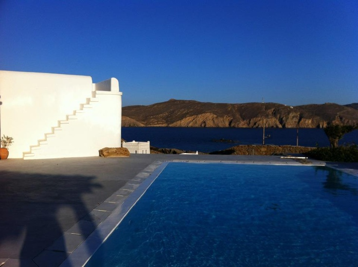 Every morning different shades of blue... Αmazing Mykonos!