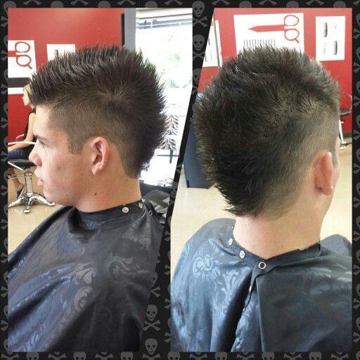 "Guys Haircut  Little Red's Cut & Dye Salon  609-A South Main St Sapulpa OK 918-902-9479  Owner/Stylist Amanda ""Red"""