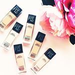 Maybelline Fit me foundation.