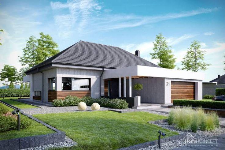 Modern Huizen door HomeKONCEPT   Projekty Domów Nowoczesnych