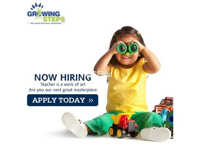 GS - Teacher Vacancy at Play School - Rohini Sector 24
