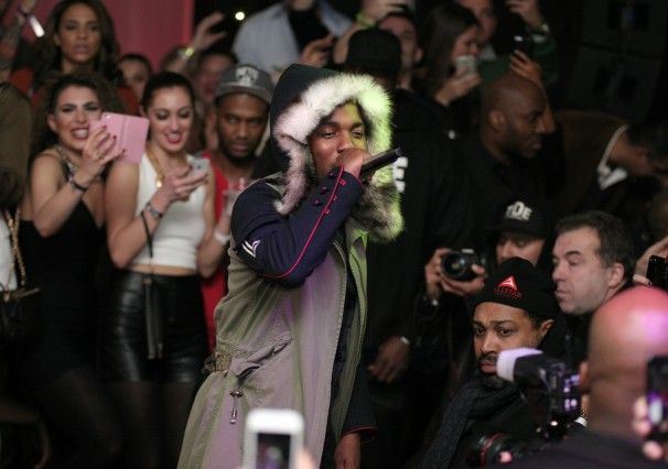 Recording artist Kendrick Lamar performs at the Maxim Magazine Super Bowl Party in New York.