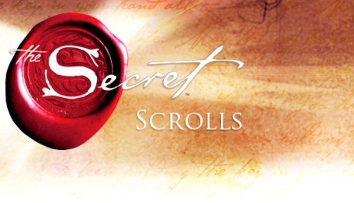 A Secret Scrolls message from Rhonda Byrne Creator...