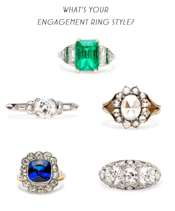 Engagement Ring Style Quiz By Trumpet And Horn