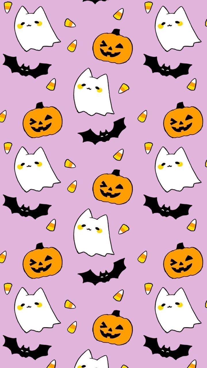 Image Uploaded By Typicaltenia Find Images And Videos About Cute Kawaii And Wallpaper On W Halloween Wallpaper Iphone Halloween Wallpaper Cute Fall Wallpaper