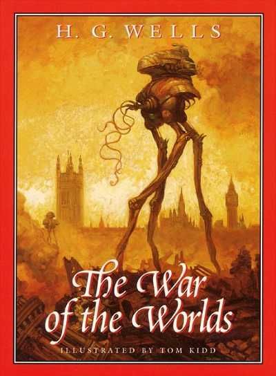 The War of the Worlds - H. G. Wells, great book and movie starring Gene Barry and Ann Robinson (1953)