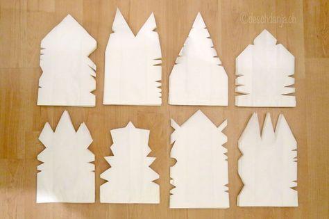 Papiertuetensterne
