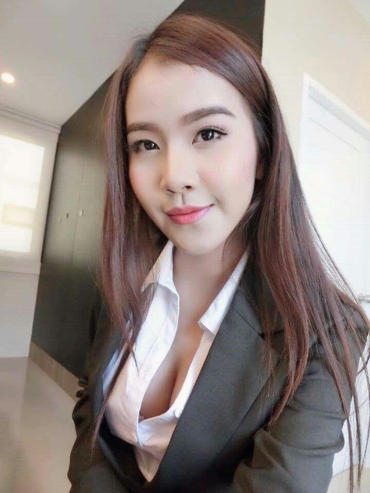 Thailand Student Uniform Cute Girl Nickname  Nuk