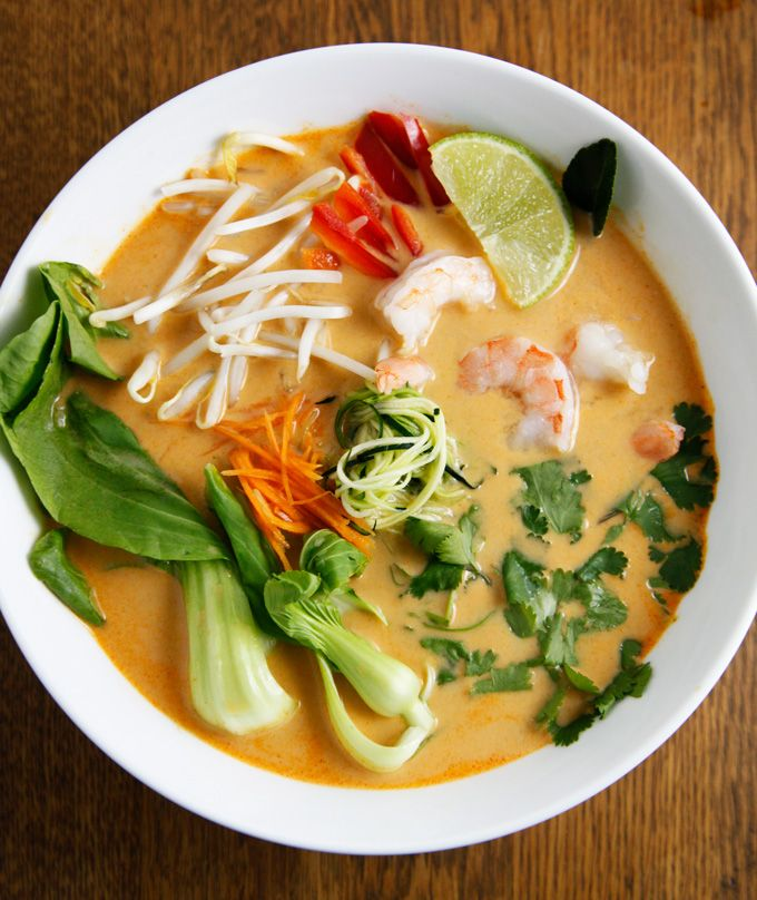 Expand kid's taste buds with this Thai Vegetable Shrimp Curry Soup recipe