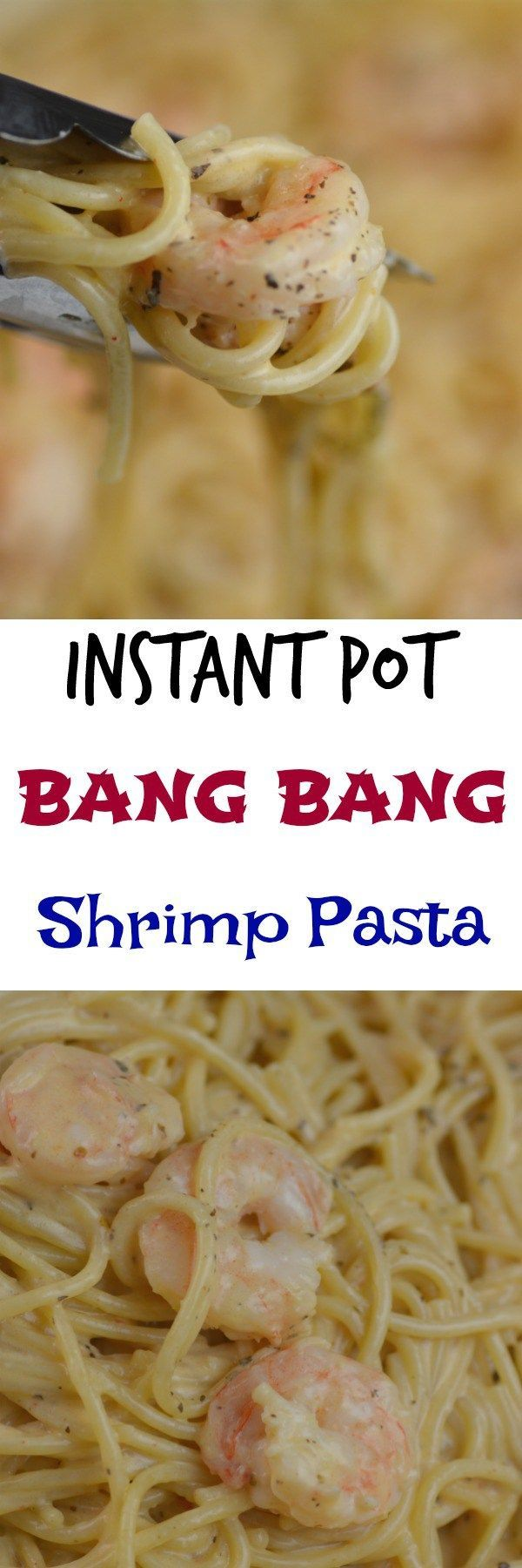 Share with friends66SharesInstant Pot Bang Bang Shrimp Pasta I use my instant pot about 3 times per week and I am always trying to think of new recipes to bring to everyone. Tonight my husband really wanted a shrimp dish. I found this amazing recipe over at Incredible Recipes for Bang Bang Shrimp. So I …