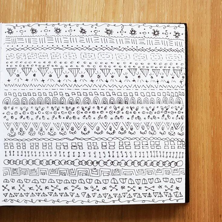 (@_barboring)  #pattern #patterndesign #illustration #barboring  #drawing #doodle #sketchbook #sketch