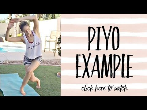 Click here to watch a quick video on a PIYO DVD example. Also, if you are interested in trying the program, here are five good reasons why you should try PIYO: http://www.kerimignano.com/5-reasons-why-you-should-try-piyo/