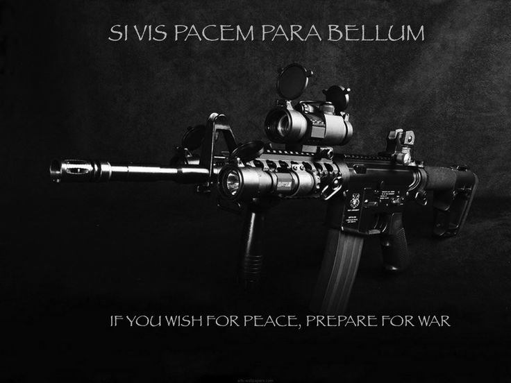 if you want peace then prepare for war essay One way of looking at this quote is some people cannot stand peace so, if you are preparing for peace, be prepared for a war from such people.