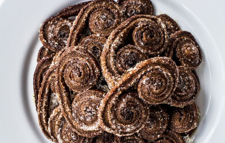 Chocolate Palmiers! Your friends will think you fancy, and only you'll know how truly simple it was to pull off. Yum!