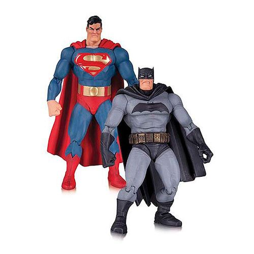 *IN-STOCK* BATMAN AND SUPERMAN: The Dark Knight Returns 30th Anniversary Action Figure 2-Pack By DC Collectibles