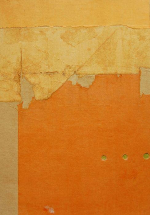 Sebastian Alvarez, Untitled: Abstract, Colour Yellows Oranges, Mixedmedia, Color, Collage Art, Abstract Art, Photo