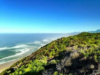 Once in a life time opportunity. Set on a 6,2ha ocean front piece of Paradise Offering the best of both worlds with spectacular views of the sea, the surrounding countryside and the majestic Outeniqua mountains amongst indigenous fauna and flora. This isl nature at its best, yet still in close proximity of Wilderness and amenities. Two title deeds.