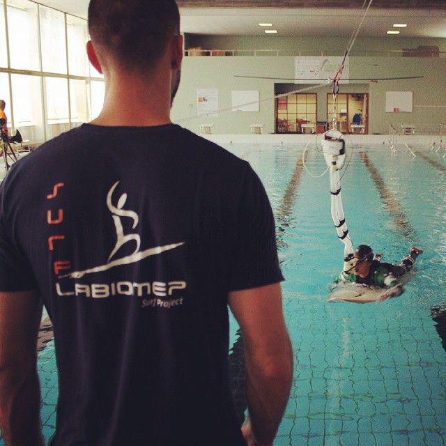 Surf Project - Bioenergetic and biomechanical evaluation in the swimming pool.