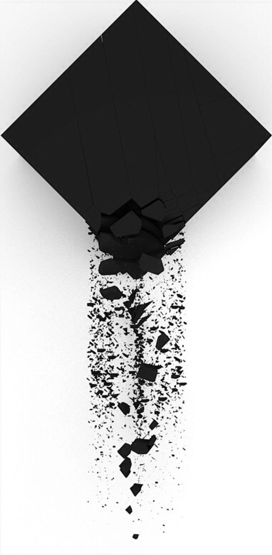 Black Art Geometric Grafic Art 4 Fun Concept contemporary art Artist Tomasz Gawroński | animator