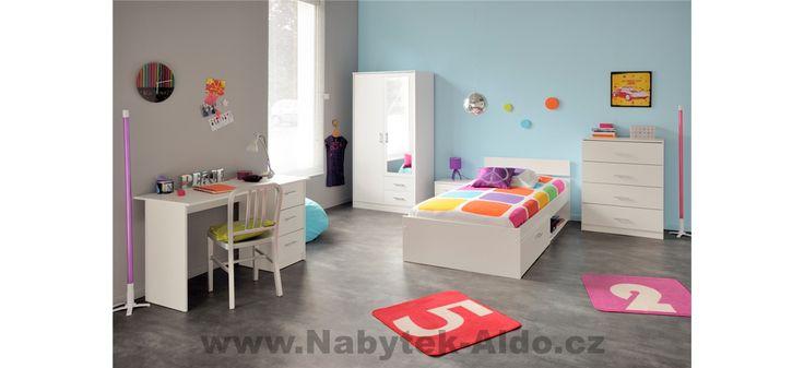 Dětský barevný pokoj