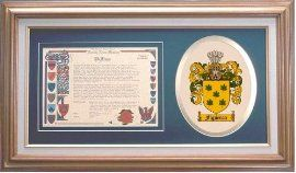 $109.99 Figueroa Family Name History and Coat of Arms / Family Crest