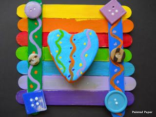 PAINTED PAPER: Crazy Hearts Club