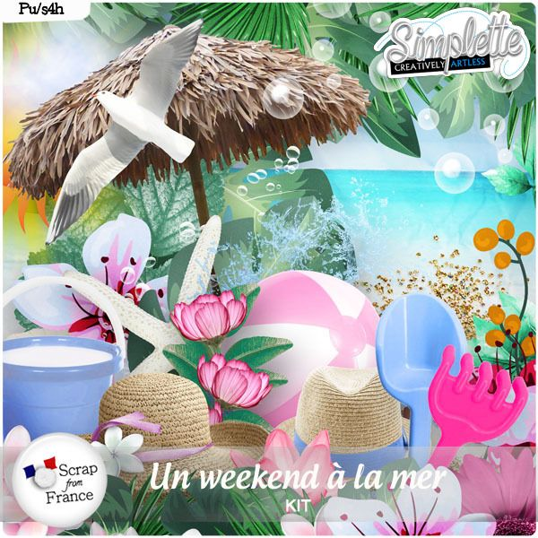 Weekend a la Plage by Simplette Scrap and Design http://scrapfromfrance.fr/shop/index.php?main_page=product_info&cPath=266&products_id=14941 http://digital-crea.fr/shop/index.php?main_page=product_info&cPath=155_517&products_id=28368