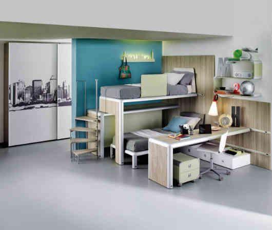 1 desain kamar anak tingkat