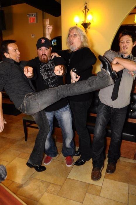 Sean, Troy, Billy, Norman