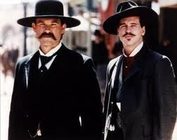 Tombstone watched August 19th. I wanted to name Austin, Morgan. But I was over ruled.