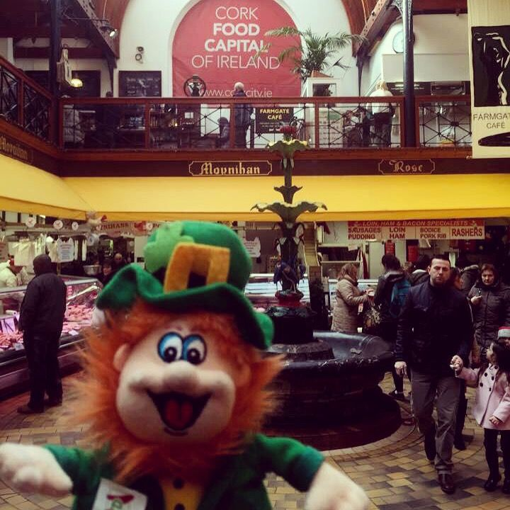 We are delighted to introduce Conor! He will stay with us until St. Patrick's Day. So, can you guess where Conor was today!?   #WheresConor winner will be announced the 17th of March… Good luck! - English Market, Cork, Ireland