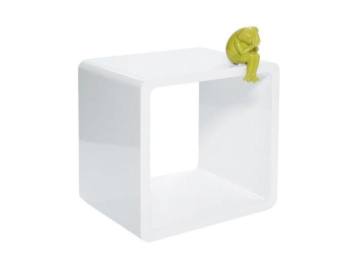 Regał Lounge Cube III biały — Regały Kare Design — sfmeble.pl
