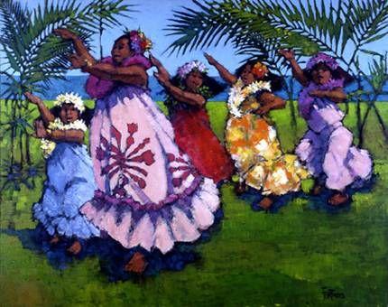 Auntie's Hula by Al Furtado at Maui Hands