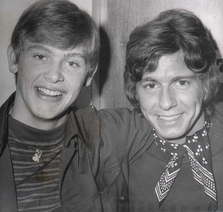 Johnny Farnham and Ronnie Burns