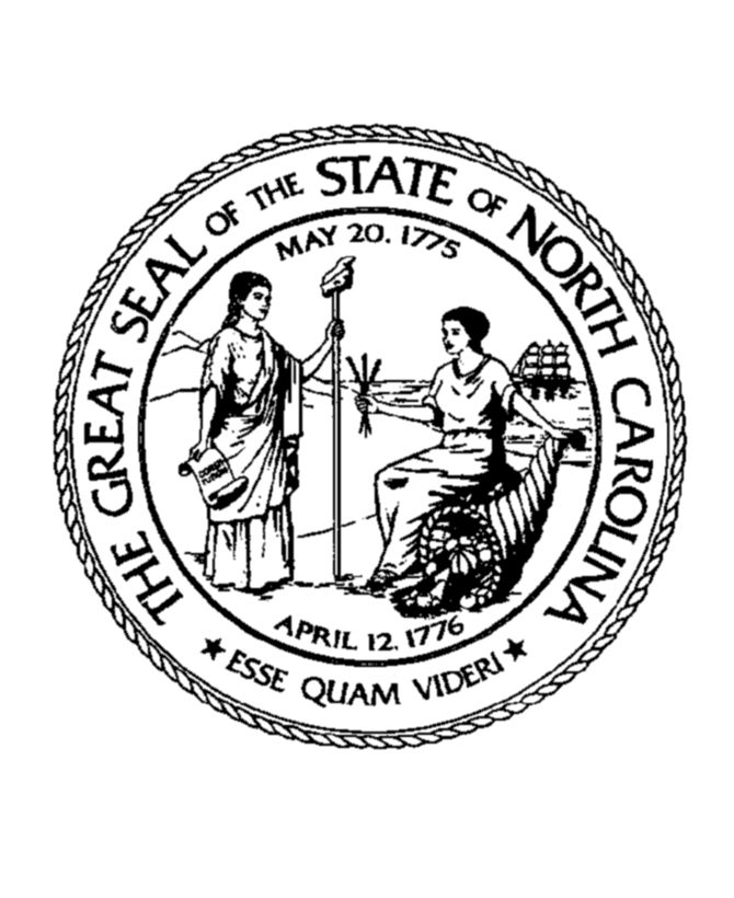 nc state seal coloring pages - photo#2